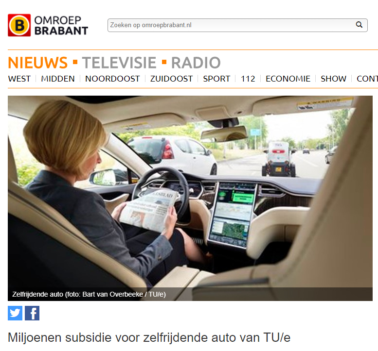 I-Cave featured on Omroep Brabant